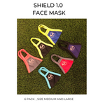SG Shield 1 Face Mask (1 Ply)  - 6 pack