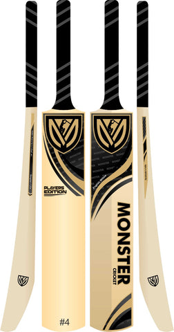 Monster Cricket Player Edition 1 - English Willow Cricket Bat