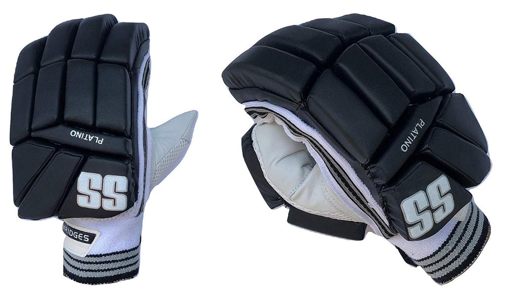 Colors : Blue, Red, Black, White SS Cricket Platino Limited Edition Batting Gloves Mens Right Handed