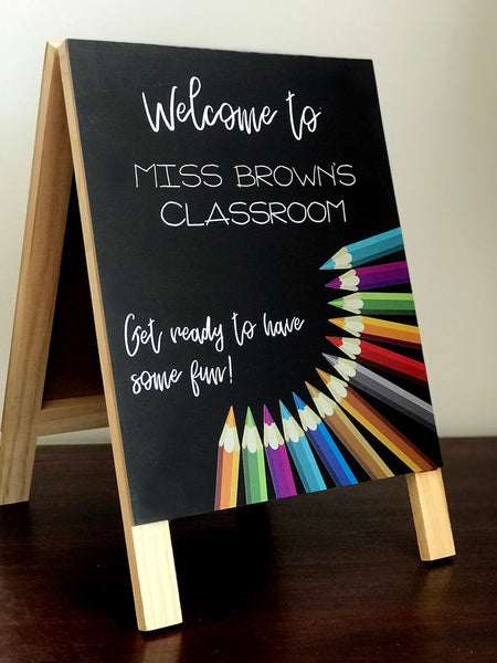 Personalised Teacher's Chalkboard