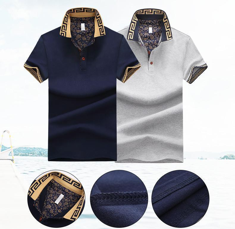 Peaks Short-Sleeve Polo Shirt