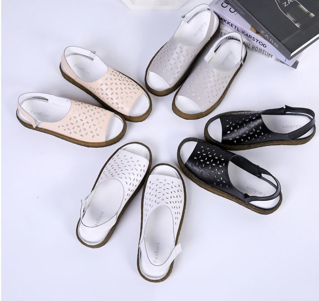 Women Casual Soft Hollow Sandals