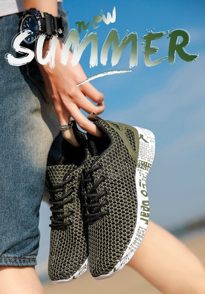 Beach Casual Breathable Knit Shoes