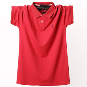 Men's Leisure Trend Big Size Polo Shirts