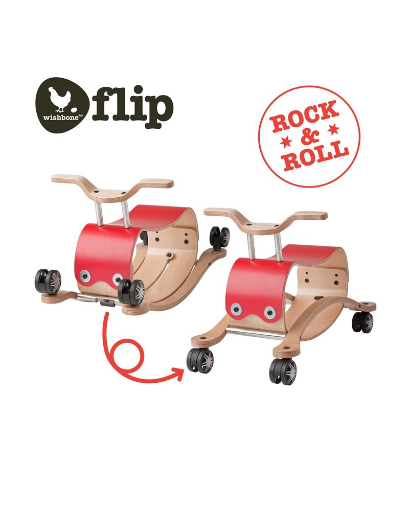 Wishbone Flip 3 in 1 - Rot/Weiss