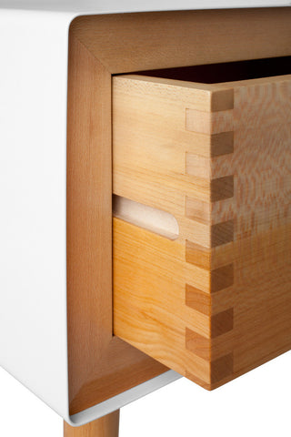 Haven nightstand / white