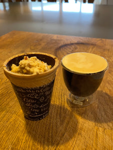 Edible Chocolate Cup Affogato
