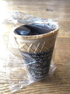Edible Chocolate Cup Individual Wrap