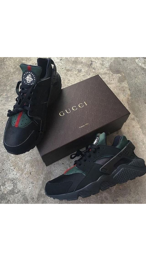 official photos de935 985ec Nike Air Huarache Gucci