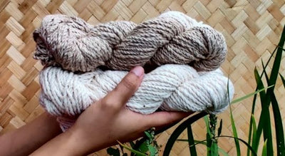 New Offering - Hand-Spun 2-ply Eri Silk Yarn for Knitters