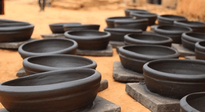 Unique Way of Making Black Pottery by The Women Folk of Meghalaya