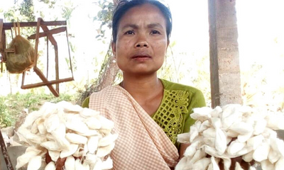 How Eri Silk Artisans Adapted to The Pandemic Times