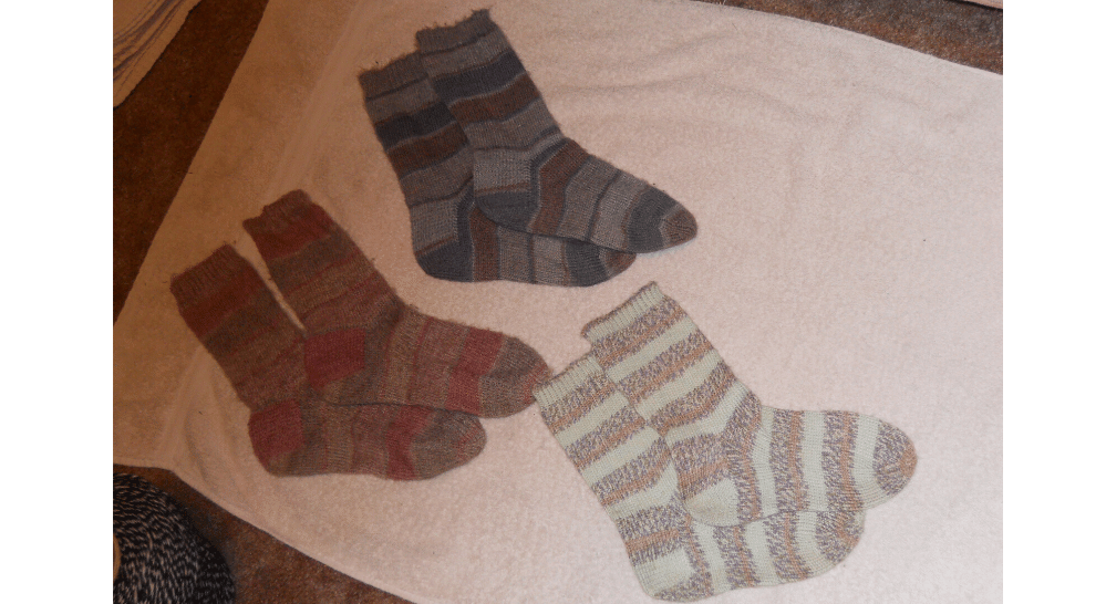 Cathe's Knitted Socks | Muezart