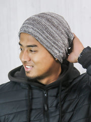 Eri silk beanie for men | Muezart
