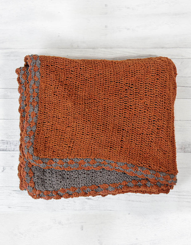 Free Pattern | Double Layer Baby Blanket