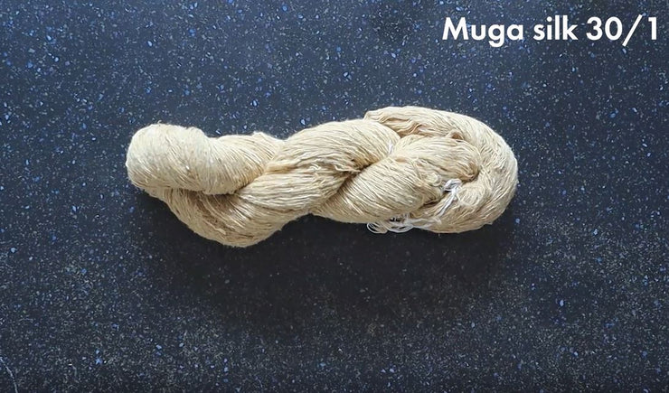 Yarn | Muga Silk Yarn 30/1 | 1 Kg - 5 Kg