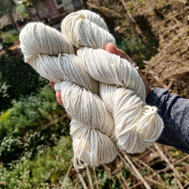Knitting Yarn India | Buy Yarn Online | Knit With Silk | Silk Yarn| Undyed YArn| Natural Silk | Eri silk yarn | Yarn Price | Knitting Yarn Online| Discount Price for Yarn