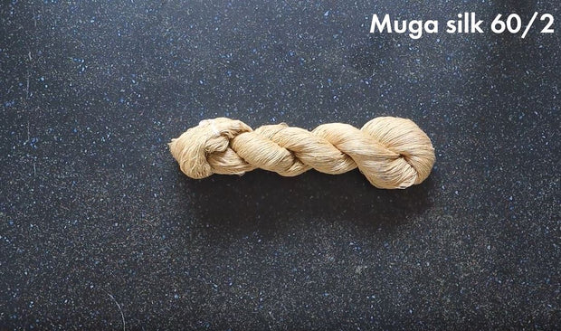Yarn | Muga Silk Yarn 60/2 | 1 Kg