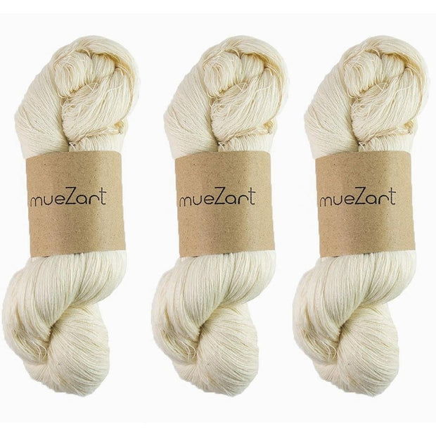 Eri silk 60/2 bundle | Pack of 3 yarn combo | Muezart