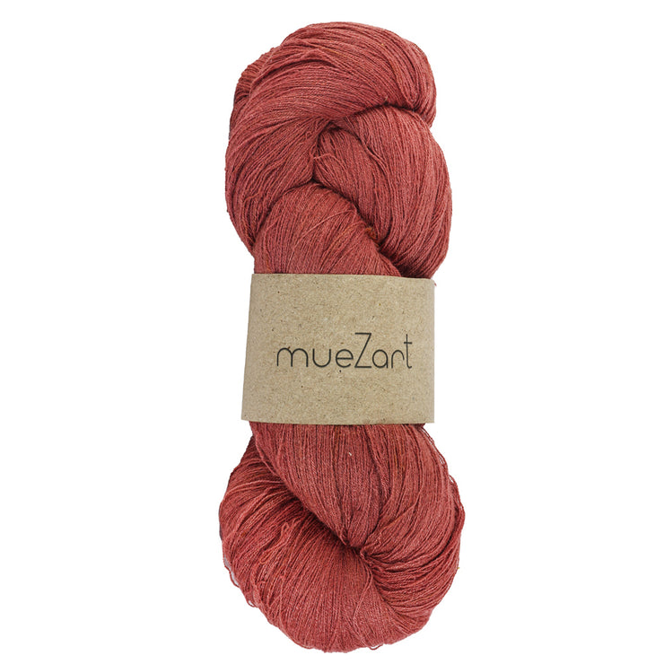 Eri silk Annatto Orange 60/2 Fine lace 100g yarn | Muezart
