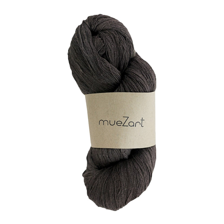 Eri silk naturally dyed fine lace weight yarn | Muezart