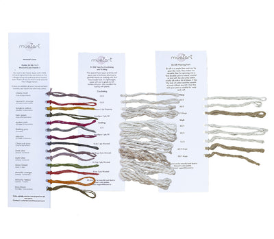 Yarn | Dyed and Undyed | Eri Silk Sample Card
