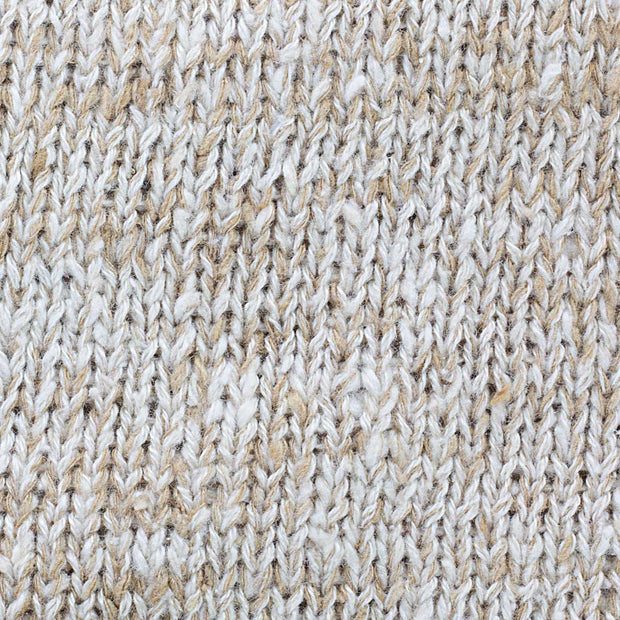 Closeup of Eri Muga Silk Blended Beanie | Muezart