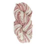 Upcycle handspun Eri silk worsted, DK yarn for knitting | Lac and white| Muezart