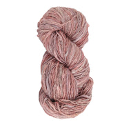 Upcycle handspun Eri silk worsted, DK yarn for knitting | Thin Lac | Muezart