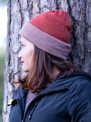 Monarch and Cherry Malt Multi-functional Reversible Beanie | Muezart