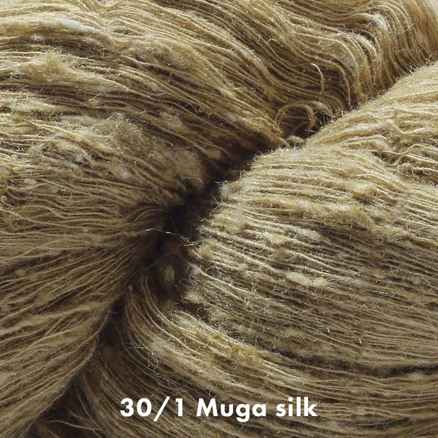Muga Silk Yarn 30/1 | Natural Fiber Yarn Color | Yarn for weaving