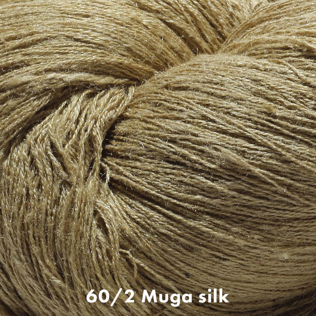 Muga Silk Yarn 60/2 | Natural Fiber Yarn Color | Yarn for weaving