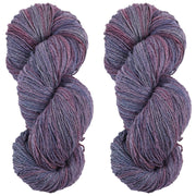 Eri silk bundle 15/3 Fingering Erino naturally dyed mulberry speckled dark color yarn | Muezart