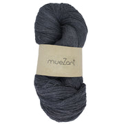 Eri silk yarn for weaving, color pebble gray, yarn count 60 by 2 | Muezart