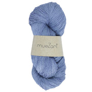 Eri silk light fingering 60/6 naturally dyed yarn | Muezart