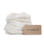 eri silk sliver | sliver eri silk | sustainable yarn | vegan sliver | Muezart