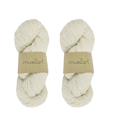 Erino yarn | Blend of Eri silk and Merino wool | Muezart