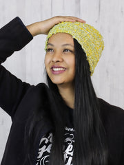 Upcycle & Reversible Eri silk handknitted beanies | Muezart