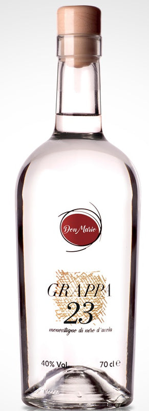 Grappa di Nero d' Avola 70cl Don Mario