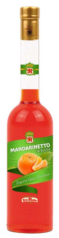 Mandarinetto di Sicilia 500ml Distilleria Fratelli Russo