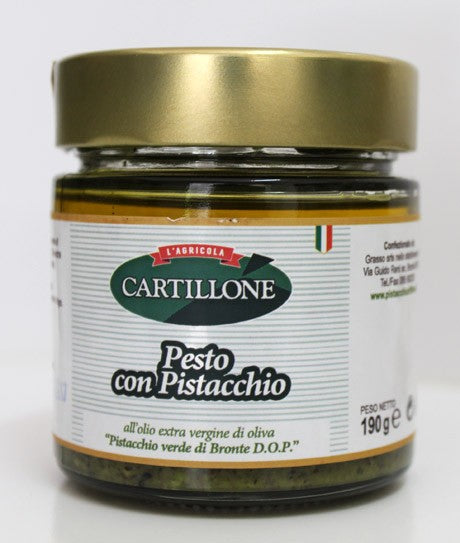 Pesto di Pistacchio 90gr Cartillone