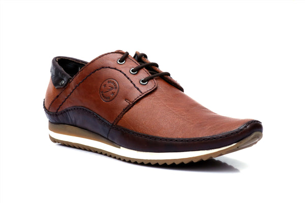 TAN FUSION LEATHER PARTY SHOES