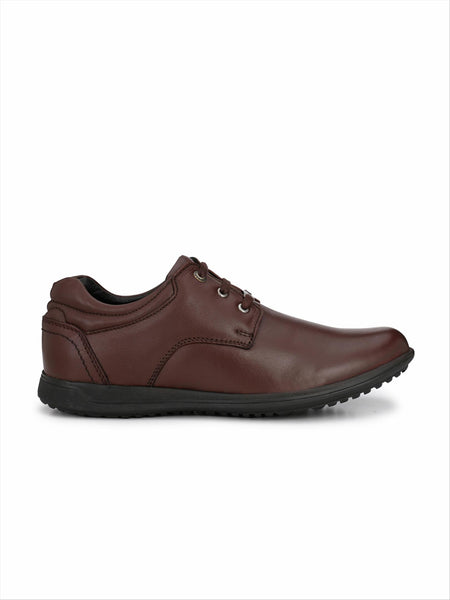 Banish Men's Cherry Genuine Leather Casual Shoes