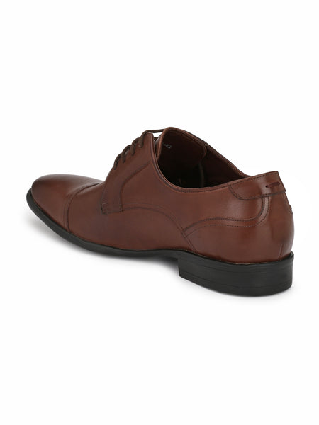 BROWN LEATHER CORPORATE FOMALS FOR MEN