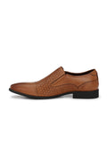 TAN LEATHER PARTY CASUALS FOR MEN