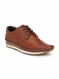 TAN LEATHER BOAT SHOES FOR MEN