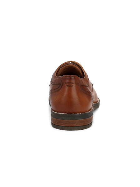 TAN FORMAL PARTY LEATHER SHOES