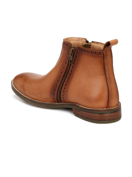 TAN ADVENTURE BOOTS