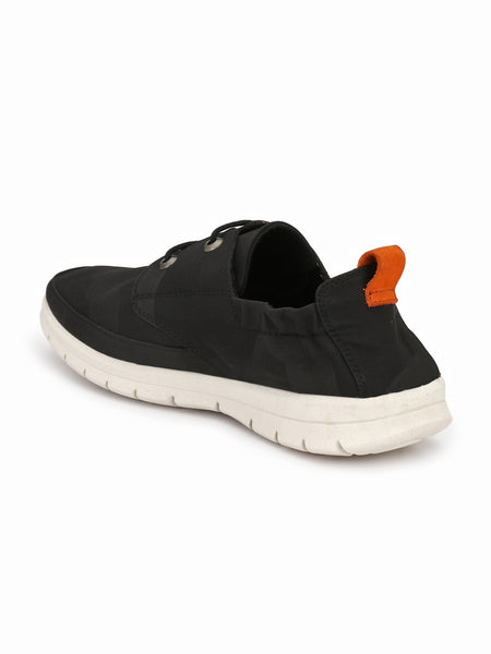 BLACK COMFORT & FLEXIBLE SHOES