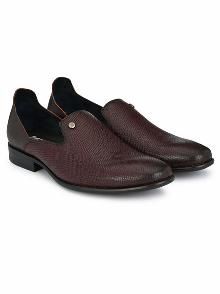 Banish Men's Genuine Leather Partywear Gurgaabi